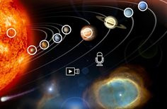 Five planets visible to the naked eye simultaneously! Since yesterday and until February you can see Mercury, Venus, Mars, Jupiter and Saturn at the same time in the sky! The five planets are. Solar System Planets, Our Solar System, Planetary System, Planetary Science, Arte Do Sistema Solar, Venus, Solar System Wallpaper, Planet Order, Universe Today
