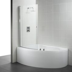 corner baths with shower screen - Google Search