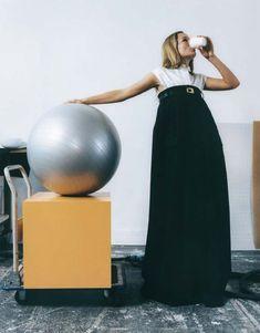 Anna Ewers, Magazine Editorial, Editorial Fashion, Freja Beha Erichsen, Life Is Strange, Rock, Minimalism, Celebrity Style, Stylists