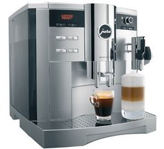 Never settle for ordinary coffee again at home or at the office with the Jura-Capresso IMPRESSA One Touch Coffee Center with the simple touch of a button you can brew specialty drinks like the pros do, in no time at all. The One-Touch cappuccino b Jura Coffee Machine, Coffee Making Machine, Home Coffee Machines, Make Your Own Coffee, Espresso Machine Reviews, Automatic Espresso Machine, Coffee Center, Best Coffee Maker, Home Coffee Stations