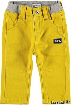 Babyface Jeans voor jongens geel - Jongens Jeans €24,95