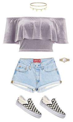 """Untitled #646"" by maritzawaffles on Polyvore featuring River Island, Vans and Rolex"
