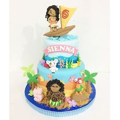 Image result for MOANA CAKE