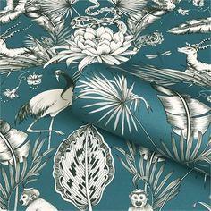 Artistic Wallpaper, Teal Wallpaper, Paper Wallpaper, Vinyl Wallpaper, Amazon Wallpaper, Wildlife Wallpaper, Animal Print Wallpaper, Hummingbird Wallpaper, Teal Background
