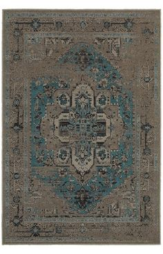 Revival is a unique collection of machine-made rugs which offer easy-care and affordability in one of today's hottest trends. The fashionable over-dyed look is replicated here in washed shades of aqua, plum, crimson and neutral greys with beautiful, vintage Persian styling.