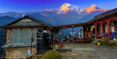 Landruk, Nepal
