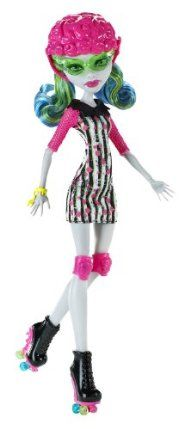 Monster High Roller Maze Ghoulia Yelps Doll by Mattel. $16.99. Ghoulia Yelps wears a Skultimate Roller Maze outfit complete with helmet, knee pads and skates. Doll is fully articulated and can be posed in many different ways. Collect all your favorite Monster High Roller Maze dolls. The ghouls of Monster High have been asked to skate in and save the day. Skultimate Roller Maze is a ferocious game that requires monster skills. From the Manufacturer             ...