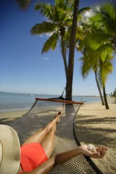 Hammock Harmony @ Sheraton Fiji Resort #fiji #happiness