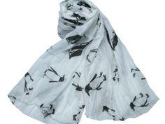 Amazon.co.jp: ペンギン柄ストール: 服&ファッション小物