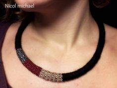 ! Chokers, Texture, Detail, Handmade, Jewelry, Surface Finish, Hand Made, Jewlery, Bijoux