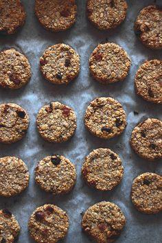 Banana-oat cookies - vegan, gluten-free
