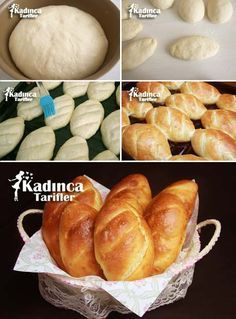 Small nut bread recipe - Food and Drink Loaf Bread Recipe, Bread Recipes, Vegetarian Breakfast Recipes Easy, No Salt Recipes, Bread And Pastries, Turkish Recipes, Special Recipes, Snacks, Food And Drink