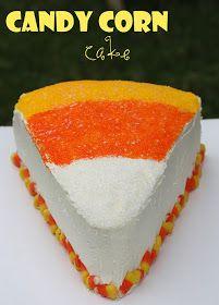 Brandy's Baking: Candy Corn Cake