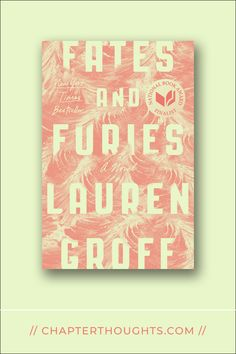 Fates and Furies // Lauren Groff · Two people working hard for an improbable dream, who, despite all odds, end up in the greatest dilemma they ever confronted. Lauren Groff, Fates And Furies, Working Hard, Pulp Fiction, The Book, Empty, My Books, Novels, Romance