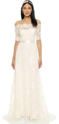Marchesa Zinnia Gown at shopbop.com #affiliatelink