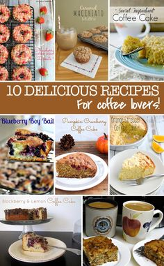 Coffee cake recipes that are just perfect for coffee lovers!
