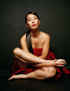 Lucy Liu in a rare Michael Williams photoshoot.