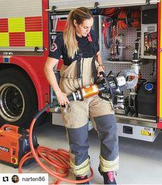 Firefighter Apparel, Firefighter Workout, Firefighter Family, Female Firefighter, Volunteer Firefighter, Fire Dept, Fire Department, Hot Firefighters, Firemen