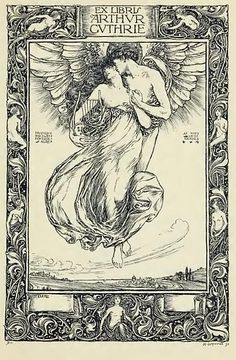 vintage bookplate by henry ospovat picture on VisualizeUs