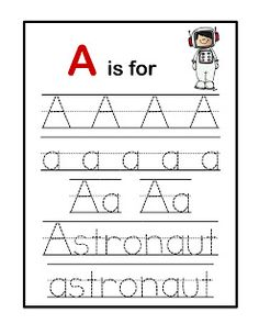 A for astronaut Preschool Printables: Space Busy Bee Preschool, Space Theme Preschool, Space Activities, Educational Activities For Kids, Preschool Education, Preschool Curriculum, Preschool Printables, Preschool Lessons, Kindergarten Activities