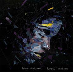Mosaique sur commande à Nimes . création de pièces unique, grands format,