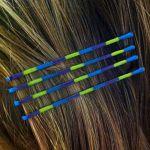 Colorblocked Bobby Pins with Nail Polish- Need very bright polish [DONE]