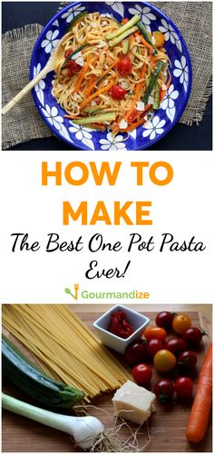 If you're looking for a quick and easy weeknight dinner that requires minimal cleanup, One Pot Pasta is about to become your new best friend! Quick Easy Dinner, Easy Dinner Recipes, Pasta Recipes, Soup Recipes, Cooking Recipes, Healthy Recipes, Easy Dinners, Dinner Ideas, Kitchens