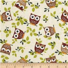 Tossed Owls Khaki/Wine/Sage