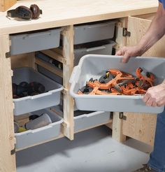 AW Extra - Big Capacity Storage Cabinet - Popular Woodworking Magazine