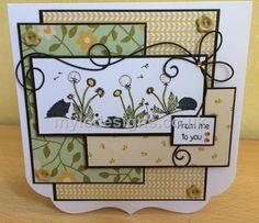 A new stamp set Wavy Hedgehogs