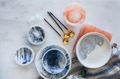 Linda Fahey Bowls and Plates and Salt