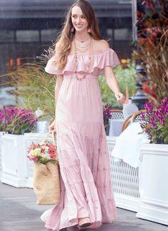 Women/'s Elegant Stylish Slim Full Long Red Dress Lace Stitching Long Sleeve Warm