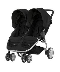 Britax B-Agile Twin Stroller - Cosmos Black