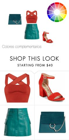 Colores complementarios by roxana-montano-puga on Polyvore featuring moda, Khaite, Prada, Sam Edelman and Chloé