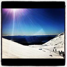 Tongariro > Ketatahi Hut | Mid-Winter Crossing
