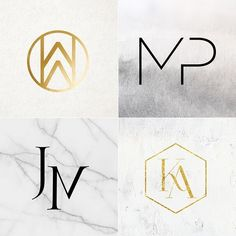 LOGOS + MONOGRAMS / Let us brand you! Custom wedding or event logos + monograms now available on our site - get on it! Monogram Logo, Initials Logo, Monogram Design, Wedding Logo Design, Wedding Logos, Wedding Cards, Wedding Designs, Wedding Events, Weddings