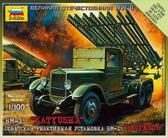 The Zvezda Soviet BM-I3 Katyusha in 1/100 scale from the wargames range is a unit that can be used with the Operation Barbarossa 1941 Wargame.