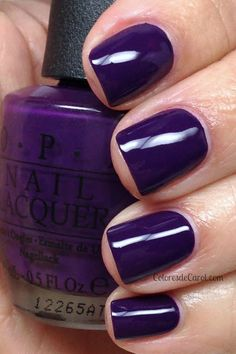 OPI - Want to Bite My Neck? Love this color purple