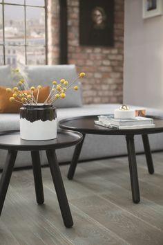 BOEN Parkett Flooring, Table Decorations, Inspiration, Furniture, Home Decor, Contrast, Urban, Graphite, Interiors