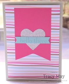 Stampin' Up! UK - Sale-a-bration 2014 is coming to an end!  Heart Punch create your own DSP
