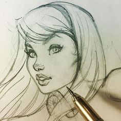 ✏️ Drawing a familiar face... #sketching #drawing #comicbook #art #jscottcampbell #pencil #sketch