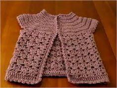 Chalecos Sacos crochet bebe - Buscar con Google