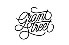 Illustration by Gemma O'Brien #illustration #GemmaOBrien #typography #lettering #grandstreet