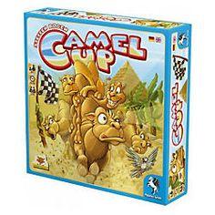 """Hier ist es: """"Camel Up"""", das SPIEL DES JAHRES 2014. Das lustige Kamelrennen ist für Kinder ab 8 Jahren geeignet."""