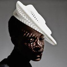 Gabriela Ligenza's Poetic, 3-D Printed Hats