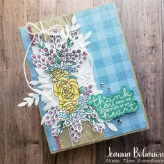 Warm Spring, Spring Day, Beautiful Bouquet Of Flowers, Beautiful Sketches, I Am Ready, Pretty Cards, My Stamp, Embossing Folder, Scrapbook Pages