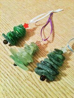 Scottish Sea Glass Christmas Tree Ornament