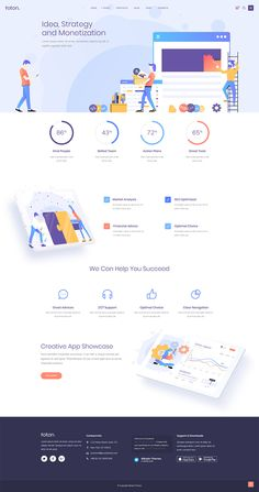Turn your tech business website into a true piece of art with Foton WordPress theme! App Landing Page, Build A Blog, Online Marketing Strategies, Ui Design, Design Ideas, Competitor Analysis, User Interface Design, Business Website, Free Website