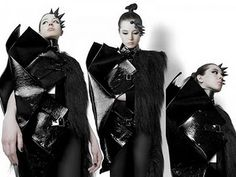 dark fashion # futuristic fashion # surreal fashion