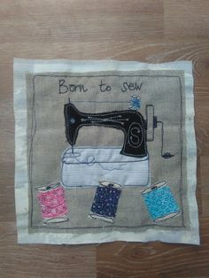 Always sewn with love | Su Parkes Textiles